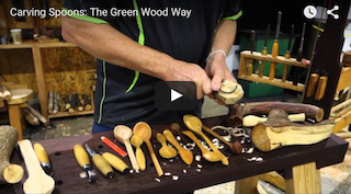 Carving Spoons - The Green Wood Way