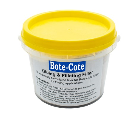 Bote-Cote Epoxy Resin Filler - Fillet and Glue Filler