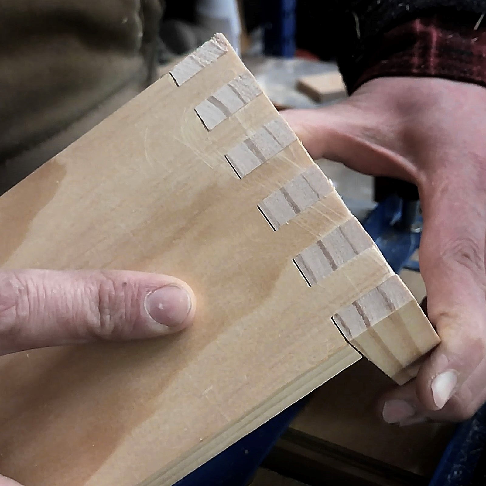 Dovetail Jig Box Joint Template 1/4in