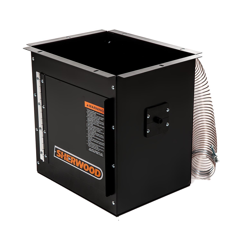 Router Table Dust Collection Box Mk 2 Black Colour