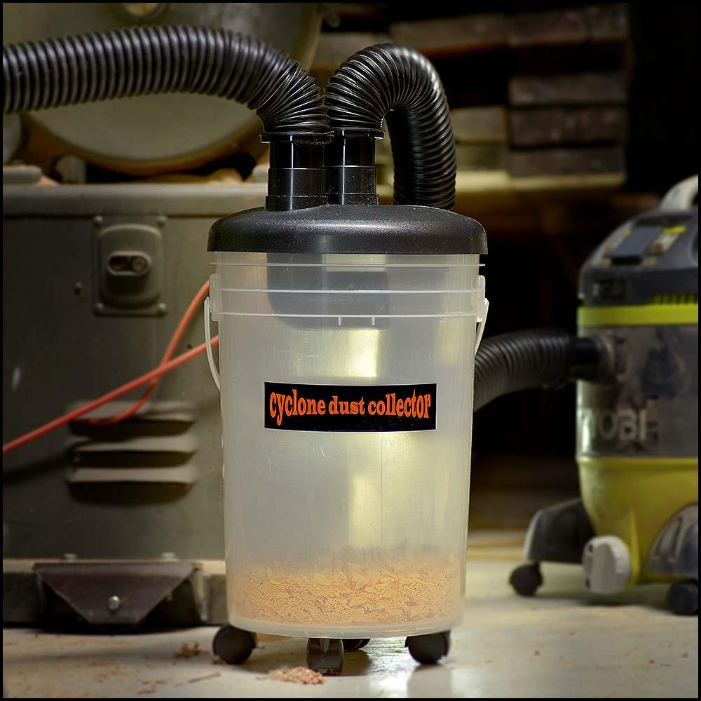 vacuum mini dust cyclone kit