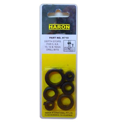 Haron Drill Bit Depth-Stop Collar Sets