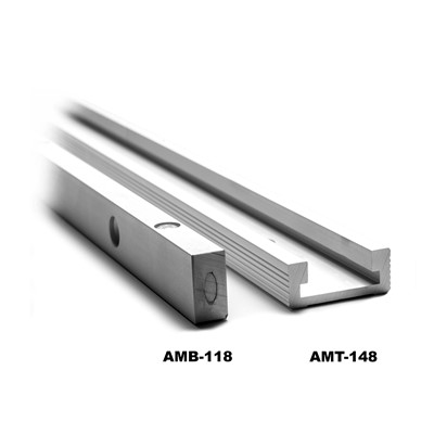 Aluminium Mitre Tracks & Bars