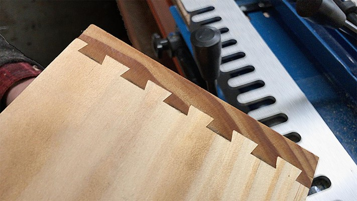 12in Dovetail Jig Half-Blind Templates