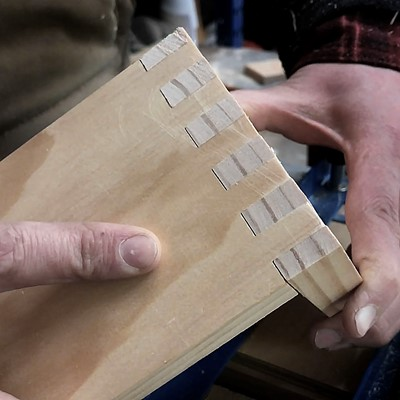12in Dovetail Jig Box Joint Templates