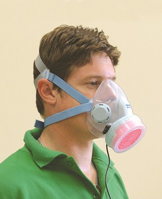 Half-Face Powered Dust Mask Kit