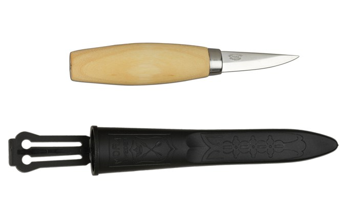 Straight Spoon Carving Knife #120