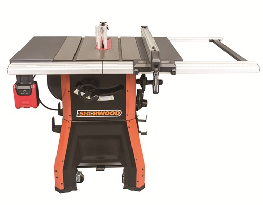Sherwood 10in Contractors Table Saw