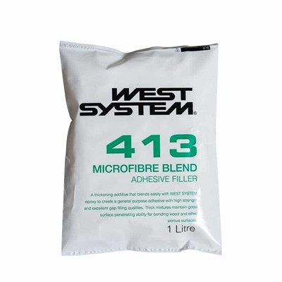 West System 413 Epoxy Resin Microfibre Blend