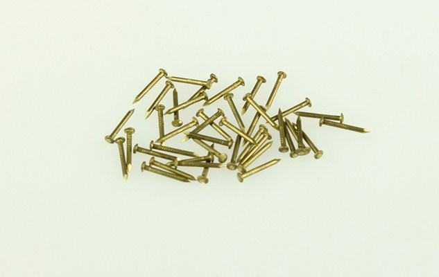 Escutcheon Pins - Solid Brass