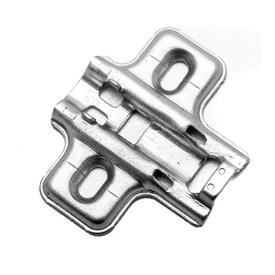 European Cabinet Soft-Closing Hinge Mount Plate