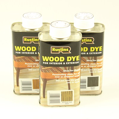 Wood Dye Stains