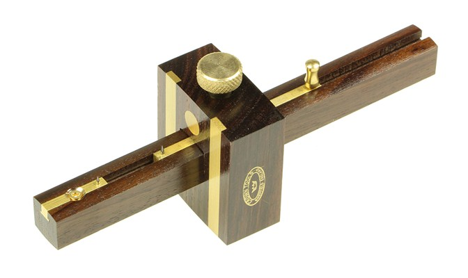 Crown Traditional Rosewood Mortice Gauge