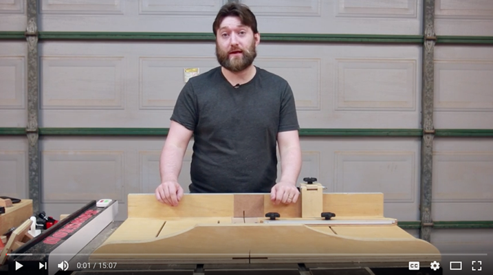 The Wood Knights Crosscut Sled