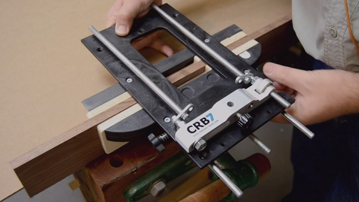 CRB7 Combination Router Base Mortice Hinge & Lock Jig Attachment