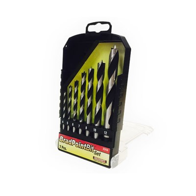 Milescraft Brad Point Drill Bit Set