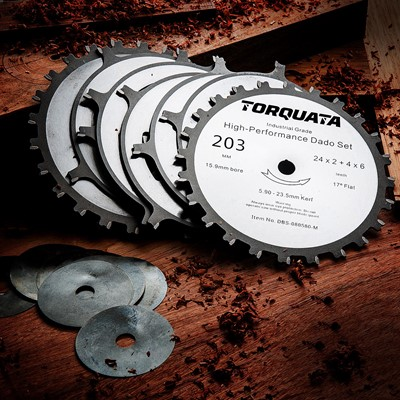 Deluxe Dado Saw Blade - Metric