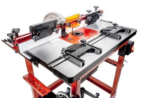 Buy router tables accessories timbecon cast iron industrial router tables greentooth