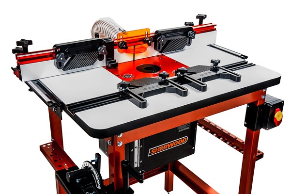 Buy router tables accessories timbecon mdfphenolic deluxe router tables greentooth Gallery