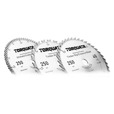 Torquata Circular Saw Blade Kit of Three