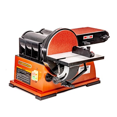 6 x 9in Standard Belt/Disc Sander