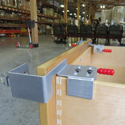 Drawer Front Installation Clamps - New Design