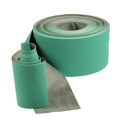 Abrasive Roll Cloth Backed 75mm Wide 25m Long
