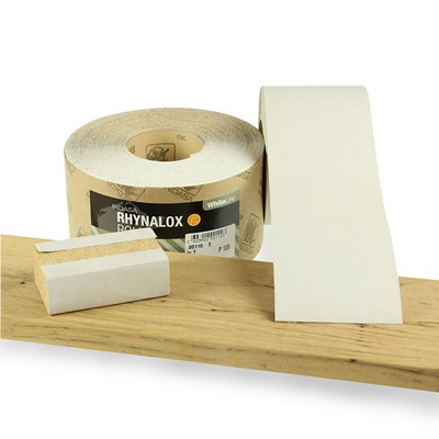 Abrasive Roll Paper Backed 100mm Wide 25m Long