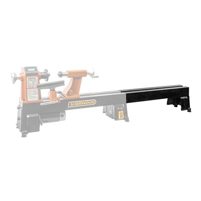 Woodlathe Bed Extension 550mm Suits SWL-1218 & SWL-1218-VS