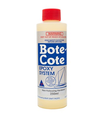 Bote-Cote Epoxy Resin Clear Hardener - Hardener Only