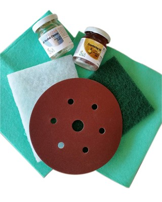 Livos Tables Benchtop And Furniture Care Kit