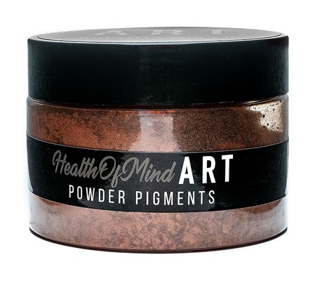 Health of Mind Art Pearlescent Pigment Powder - Bright Copper