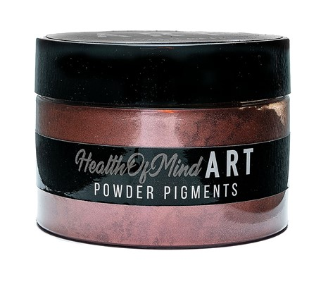 Health of Mind Art Pearlescent Pigment Powder - Deep Red