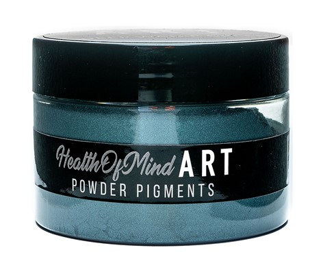 Health of Mind Art Pearlescent Pigment Powder - Deep Water Green