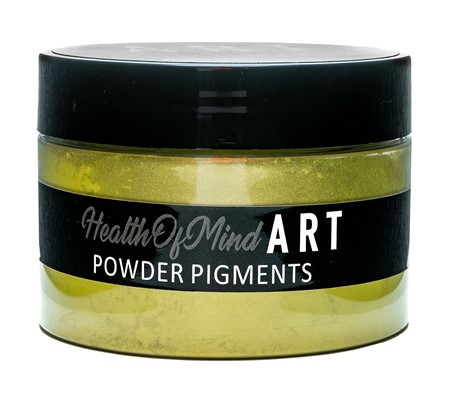 Health of Mind Art Pearlescent Pigment Powder - Electric Daisy