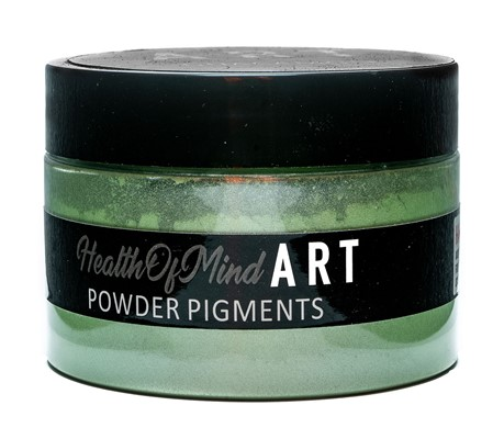 Health of Mind Art Pearlescent Pigment Powder - Guacamole