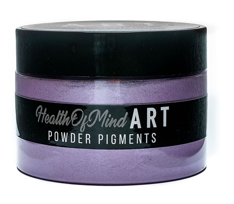 Health of Mind Art Pearlescent Pigment Powder - Lavender