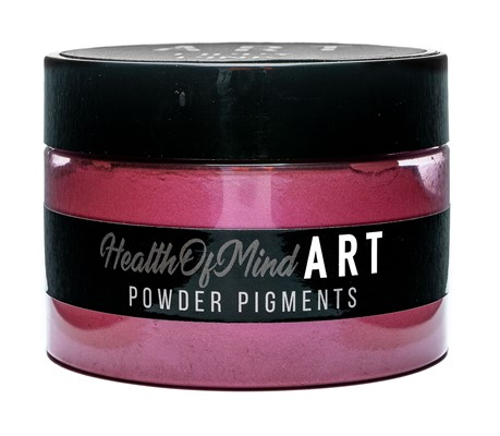 Health of Mind Art Pearlescent Pigment Powder - Lippy Pink