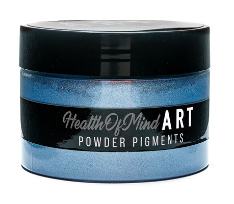 Health of Mind Art Pearlescent Pigment Powder - Misty Blue