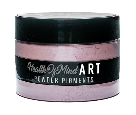Health of Mind Art Pearlescent Pigment Powder - Musky Pink