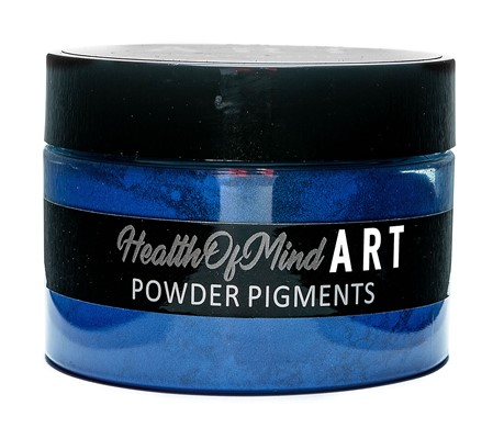Health of Mind Art Pearlescent Pigment Powder - Ocean Blue