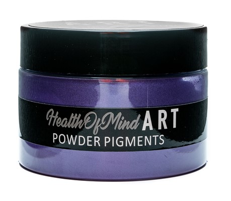 Health of Mind Art Pearlescent Pigment Powder - Purple Crown