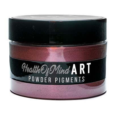Health of Mind Art Pearlescent Pigment Powder - Reddy Brown