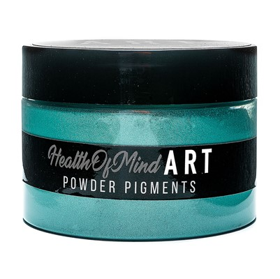 Health of Mind Art Pearlescent Pigment Powder - Reef Green