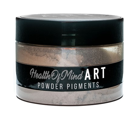 Health of Mind Art Pearlescent Pigment Powder - Rose Gold