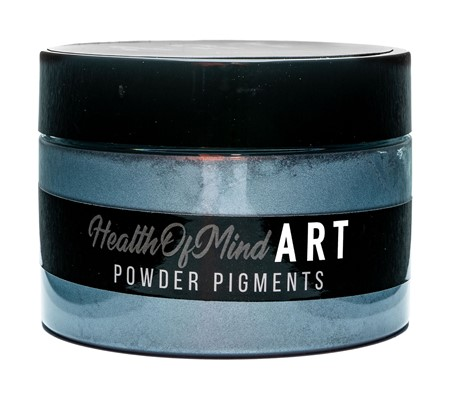 Health of Mind Art Pearlescent Pigment Powder - Sky Blue