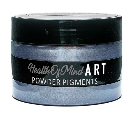 Health of Mind Art Pearlescent Pigment Powder - Steele Blue