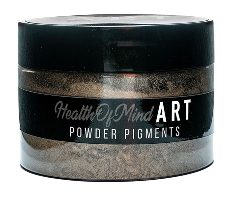 Health of Mind Art Pearlescent Pigment Powder - Toilet Brown
