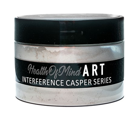 Health of Mind Art Interference Powder - Red Dazzler