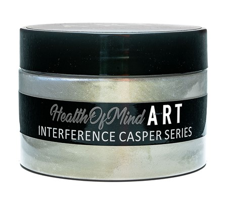 Health of Mind Art Interference Powder - Gold Fields